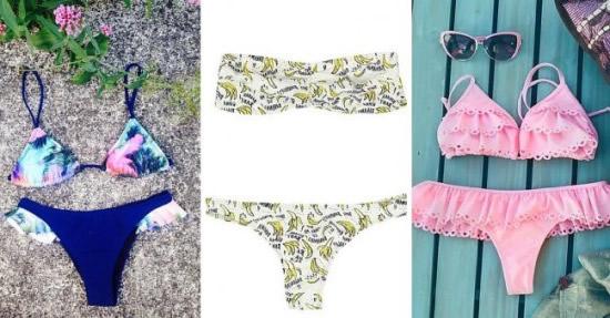 Bikinis tendencia para esta temporada.